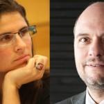 Sylvia Eyzaguirre y Gregory Elacqua