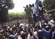 Protestas en Burkina Faso, África