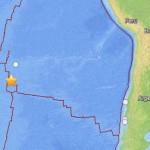 Sismo de 6,0 Richter se registró en la Isla de Pascua