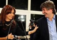 Cristina Fernández y Amado Boudou