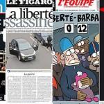 """Corresponsal en Francia: """"Hoy todos los diarios del país están de luto"""""""