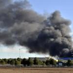 Al menos 10 muertos deja F-16 que se estrelló en base militar española