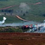 Israel y Hezbolah se enfrentan a fuego cruzado en Altos del Golán