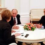 Putin, Merkel, Holande y Poroshenko se reúnen en Minsk en un alto al fuego de Ucrania