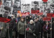 Marcha por muerte de líder opositor en Moscú