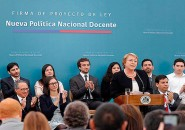 Bachelet reforma docente