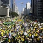Brasil: Opositores a Rousseff marcharán 1.000 kms en demostración de descontento
