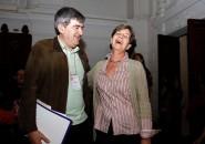 Camilo Escalona e Isabel Allende