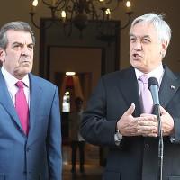Ex presidentes Eduardo Frei y Sebastián Piñera