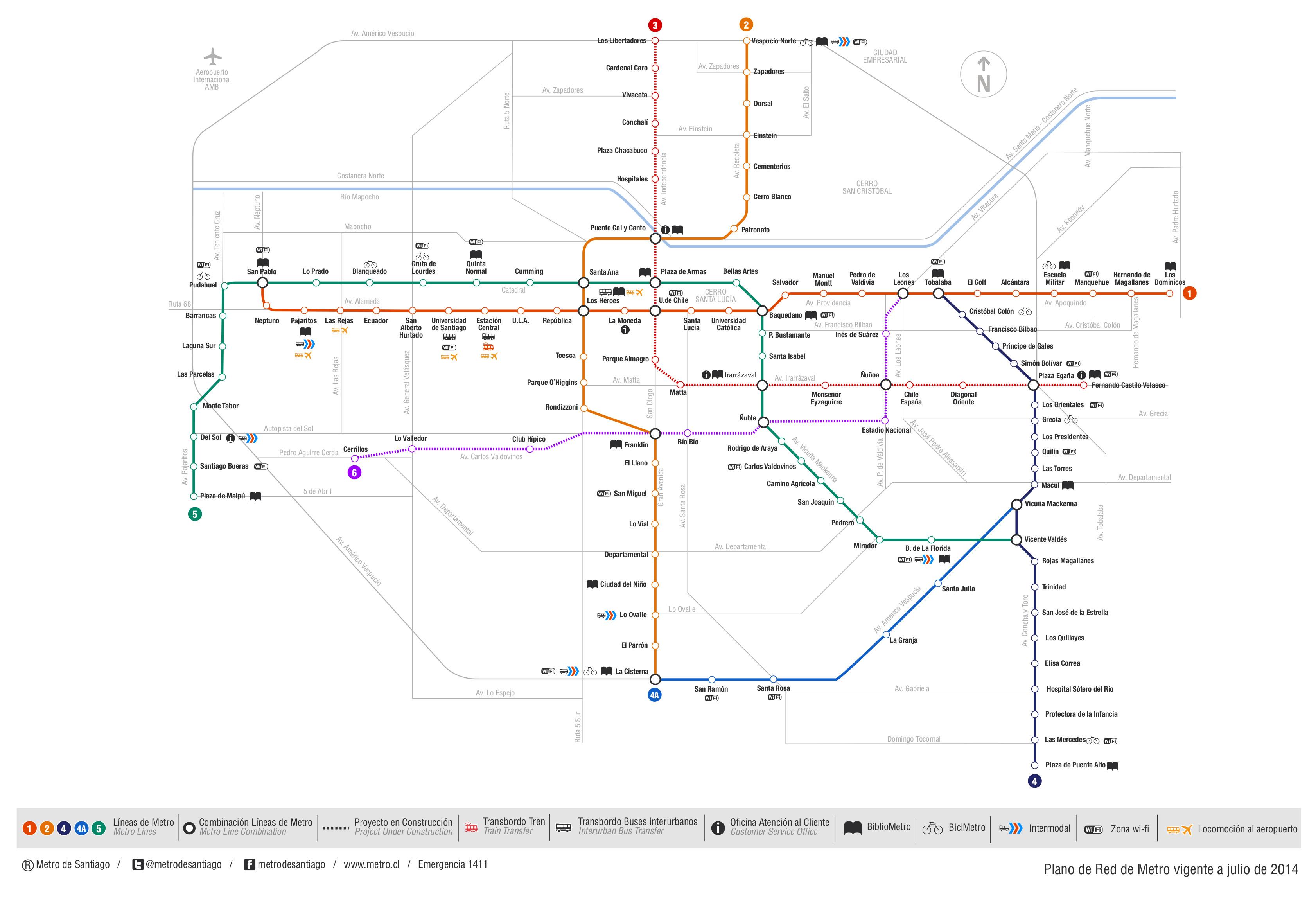 Revisa el trazado de las nuevas líneas 3 y 6 de Metro ...
