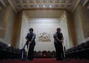 Preparativos 21 de Mayo Congreso Nacional