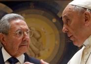 Raúl Castro y el Papa Francisco