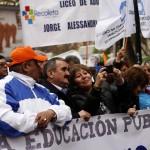 Edición 13 horas: Profesores marchan sin Jaime Gajardo