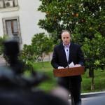 """El proyecto de """"impunidad propia"""" al que aludió Insunza en su renuncia"""