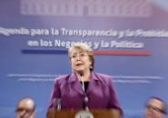 La Presidenta de la Republica firma Proyectos de Ley de la agenda para la transparencia y la probidad en los negocios y la política