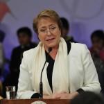 Encuesta Cadem: Aprobación a Presidenta Bachelet se eleva a un 25%