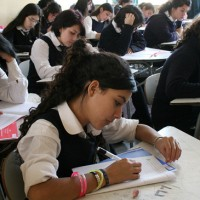 Escolares rinden prueba SIMCE