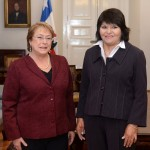 Edición 13 horas: Carmen Gloria Quintana se reunió con la presidenta y valoró su compromiso con los DD.HH.