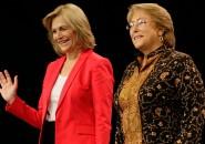 Bachelet y evelyn