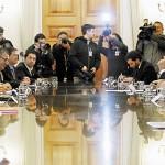 Reunión extraordinaria del comité político se realiza en La Moneda