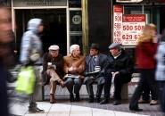 Gente centro de Santiago