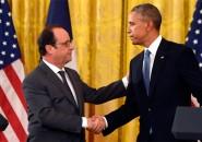 Francoise Hollande y Barack Obama