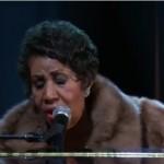 VIDEO: La actuación de Aretha Franklin que emocionó a Obama hasta las lágrimas