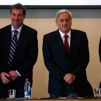 Arturo Salah y comité de la ANFP