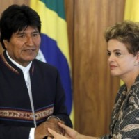 evo Morales y Dilma Rousseff