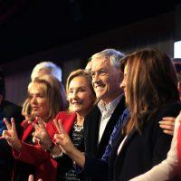 29 de mayo de 2016/SANTIAGO Con la presencia del ex presidente Sebastian Piñera, Chile Vamos lanzo la presentación a alcalde de Chile Vamos, el evento se desarrollo en el Hotel San Francisco FOTO:MARIO DAVILA/AGENCIAUNO
