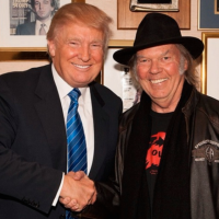 neil young y donal trump