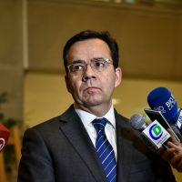 El Ministro de Economía, Fomento y Turismo, Luis Felipe Céspedes, participa en la sesión de la sala de la Cámara de Diputados, donde se abordará el fenómeno de la marea roja en la región de Los Lagos.