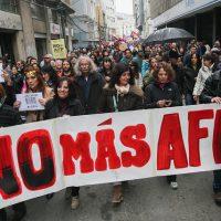 Marcha contra las AFP