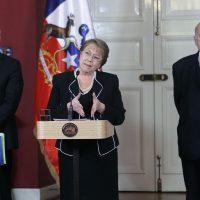 Michelle Bachelet y contra demanda