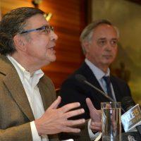 Conferencia de prensa de Joaquin Lavin y Francisco De La Maza