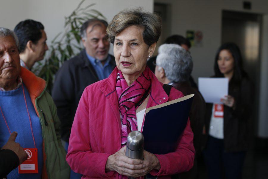 10 de SEPTIEMBRE  del 2016/SANTIAGO Isabel Allende ,durante el Consejo General del Partido Socialista, donde habr‡ un pronunciamiento sobre la propuesta de adecuaci—n de los estatutos internos a las nuevas disposiciones legales. FOTO:FRANCISCO LONGA/AGENCIAUNO