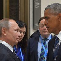 Barack Obama y Putin