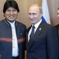 Morales y Putin