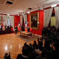 19 de Octubre del 2016/SANTIAGO La presidenta Michelle Bachelet, anuncia el tercer cambio de gabinete durante su mandato  FOTO:FRANCISCO FLORES SEGUEL/AGENCIAUNO