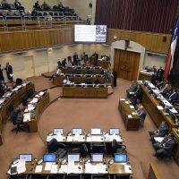 20 de Diciembre de 2016/ VALPARAISO  Hemiciclo ,durante el proyecto de ley que se discute en el Senado que declara feriado el 02 de Enero FOTO:PABLO OVALLE ISASMENDI/AGENCIAUNO