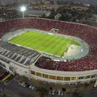 Imagen aérea del estadio Nacional en Santiago, Chile, el 24 de noviembre de 2014.  El estadio será utilizado en la Copa América de 2015. (Agencia Uno via AP) CHILE OUT - NO USAR EN CHILE