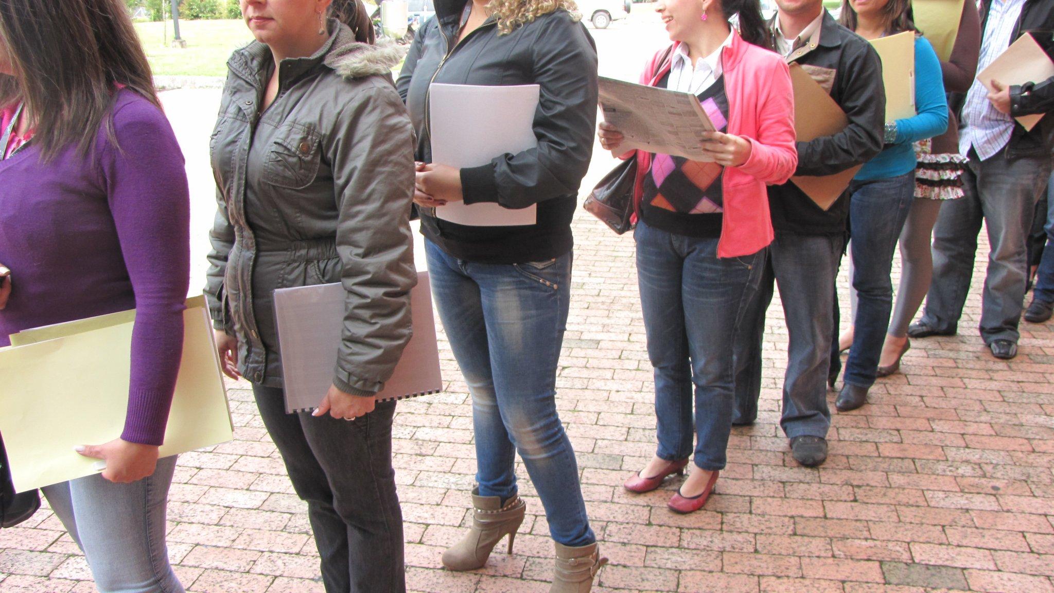 INE publicó el informe sobre la situación del desempleo en Chile en el primer trimestre de 2018.