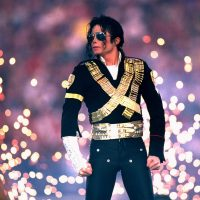 A halftime spectacular featuring Michael Jackson wows a SB XXVII crowd of better than 98,000 at the Rose Bowl in Pasadena on 1/31/1993. ©Al Messerschmidt/Getty Images Photos (Photo by Al Messerschmidt/Getty Images)
