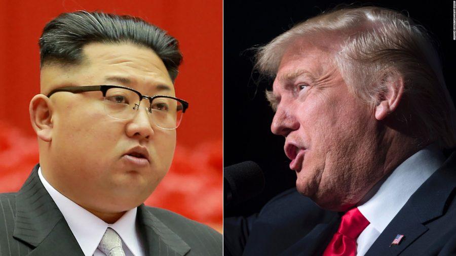 Líder de Corea del Norte, Kim Jong-un, y el presidente de EE.UU. , Donald Trump