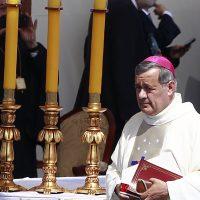Obispo Juan Barros se reunirá con el Papa en el Vaticano.