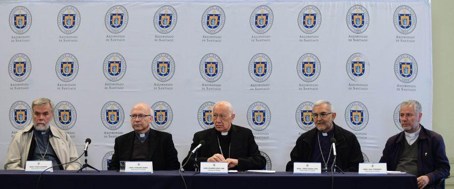 Miembros de la Conferencia Episcopal de Chile