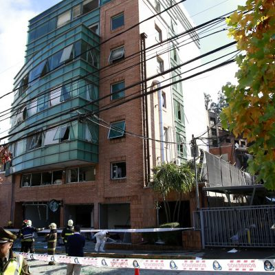 Explosión que afectó a las dependencias del Sanatorio Alemán de Concepción deja 4 muertos hasta el momento y una centena de heridos que fueron trasladados a otros centros asistenciales .