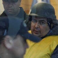 30 de ABRIL del 2018/LOS ANDES Formalización del presunto responsable de la violación y muerte de una menor de 1 año y 7 meses en la localidad de Rinconada de Los Andes, realizado en el Juzgado de Garantía de Los Andes FOTO:FRANCISCO FLORES SEGUEL/AGENCIAUNO