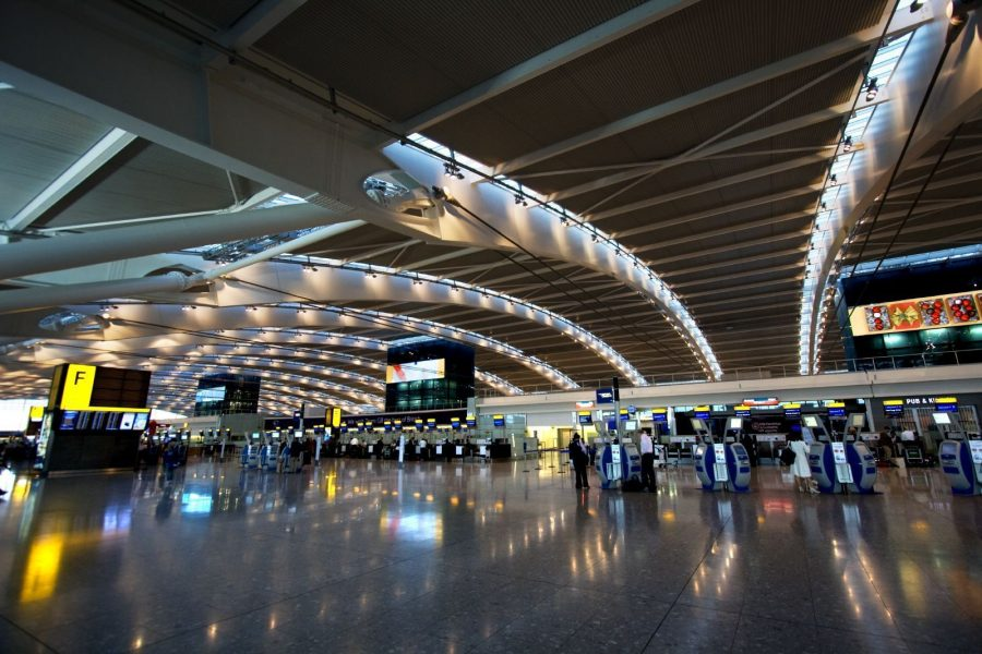 Aeropuerto de Londres-Heathrow. Foto: Pinterest