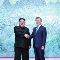 La histórica reunión entre Kim Jong- Un y Moon Jaen-in